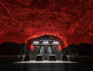 Dünyanın en havalı metro istasyonları