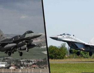 F-16 sava� u�aklar� ile Rus Mig-29'lar aras�ndaki farklar