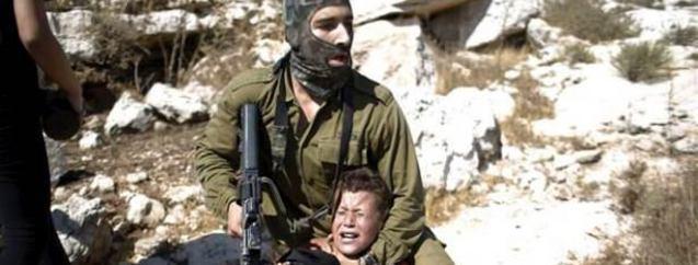 İsrail askeri çocuklara saldırdı