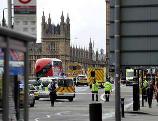 Londra'daki terör saldırısından ilk görüntüler