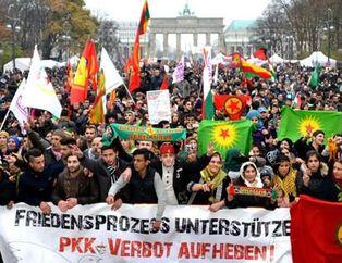 PKK'lı hainler Avrupa'da terör estirdi