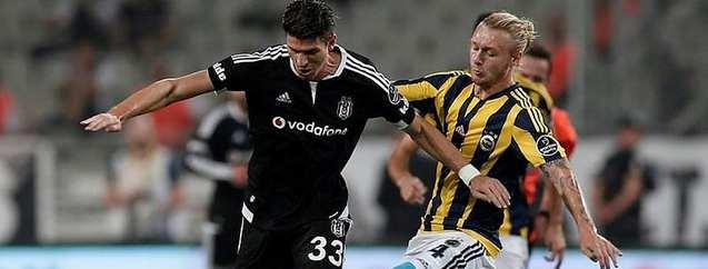 Beşiktaş ve F. Bahçe'nin  ilk 11'leri
