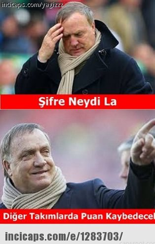Fenerbahçe-Alanyaspor maçı sonrası caps'leri