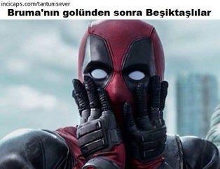 İşte Beşiktaş-G.Saray derbisi caps'leri
