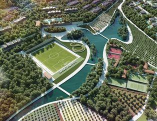 İşte Galatasaray'ın yeni tesisi!