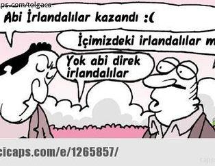 Türkiye elendi caps'ler patladı