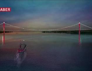 1915 Çanakkale Köprüsü'nün görselleri ilk kez yayınlandı