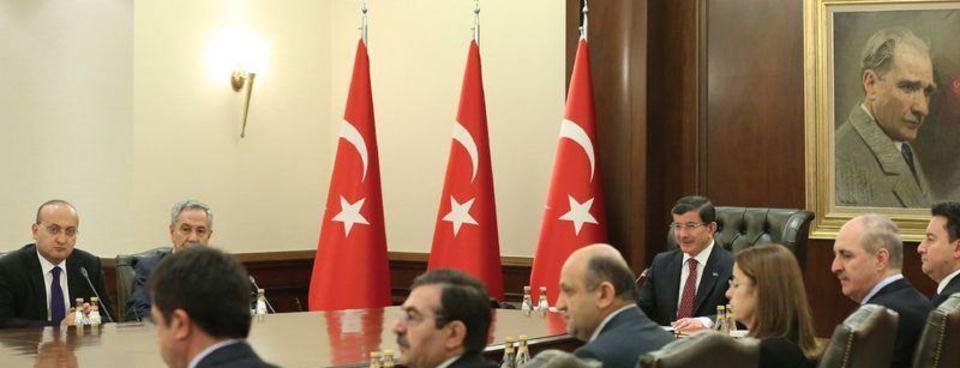 Başbakan Ahmet Davutoğlunun bir yılı