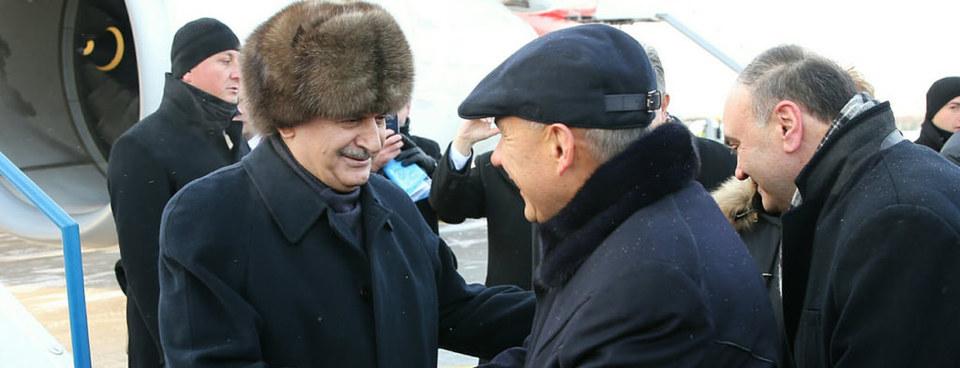 Başbakan Yıldırım Tataristan'da böyle karşılandı
