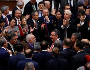 CHP'nin Meclis'i karıştırdığı kavganın görüntüleri