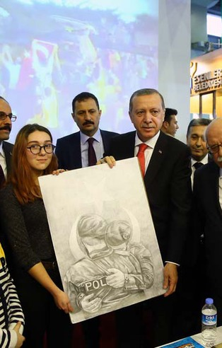 Cumhurbaşkanı Erdoğan 4. İstanbul Kitap Fuarı'nda