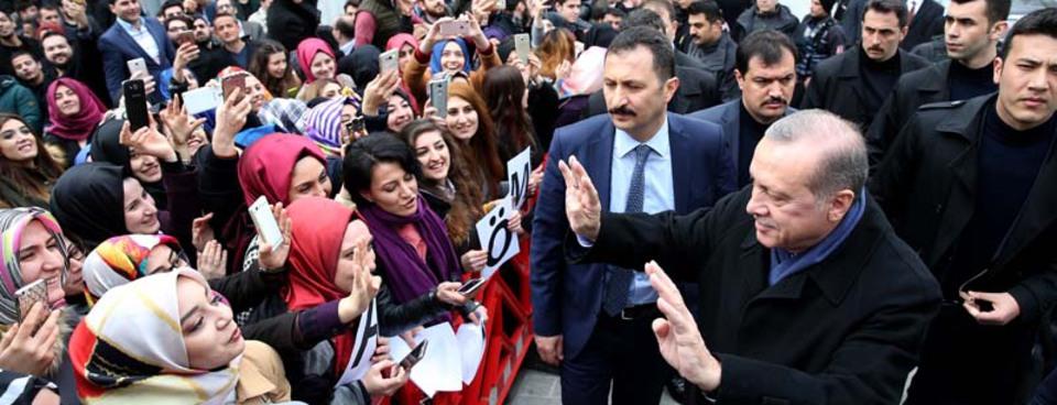 Cumhurbaşkanı Erdoğanın doğum gününü kutladılar