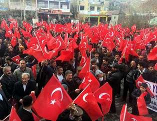 Diyarbakır'da teröre lanet yağdı