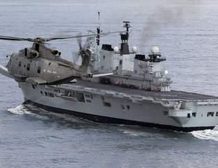 İngiliz uçak gemisi artık Türkiye'de
