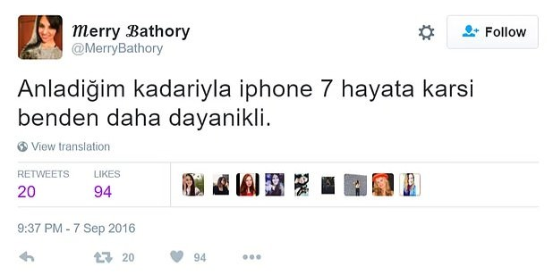 iPhone 7 capsleri!