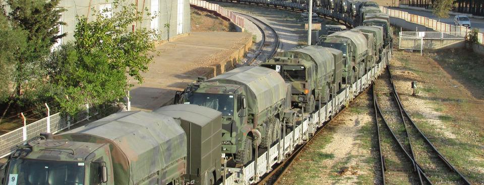 İstanbuldaki kışla trenle Gaziantepe taşındı