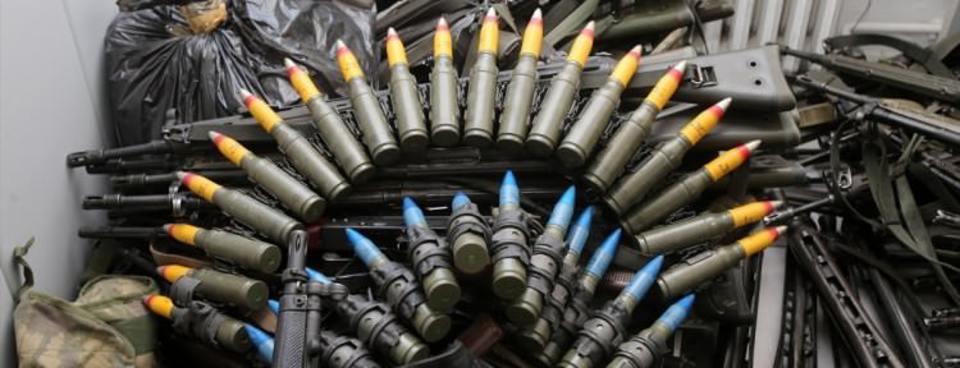 İşte FETÖcü militanların kullandığı silahlar