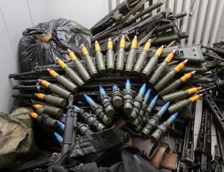 ��te FETÖ'cü militanlar�n kulland��� silahlar