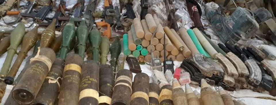 PKK cephaneliğinde dikkat çeken silah!