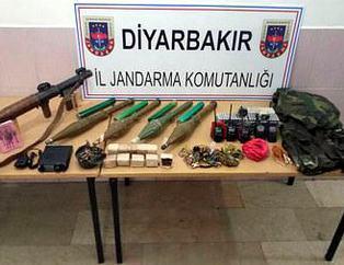 PKK'lı teröristlerin inlerine girildi!