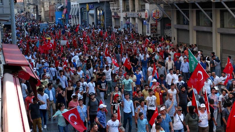 PKK'ya lanet yürüyüşü!