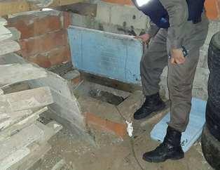 Rize'de gizli geçitle bağlı silah atölyesi bulundu