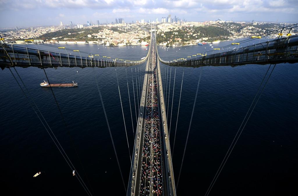 Vodafone 37. İstanbul Maratonu'ndan görüntüler