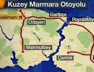 Yavuz Sultan Selim Köprüsü giri� noktalar�, güzergahlar� ve ücretleri