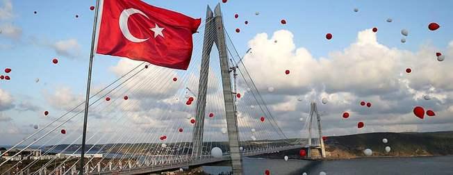 Yavuz Sultan Selim Köprüsü'nün aç�l��� yap�ld�