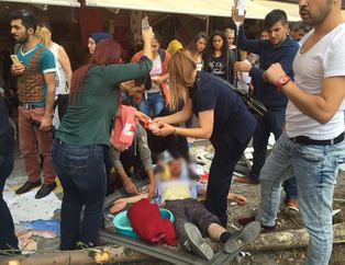 Ankara'da kaza yerinden ilk g�r�nt�ler