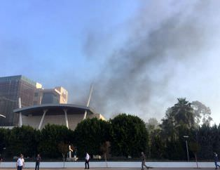 ATSO binası otoparkında patlama!