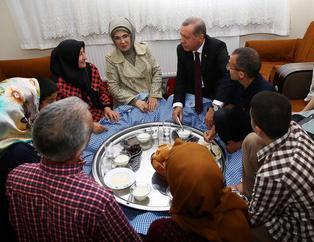 Cumhurba�kan� Erdo�an iftar sofras�na konuk oldu