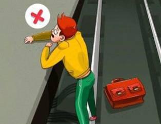 Metroya düşerseniz ne yapmanız lazım?
