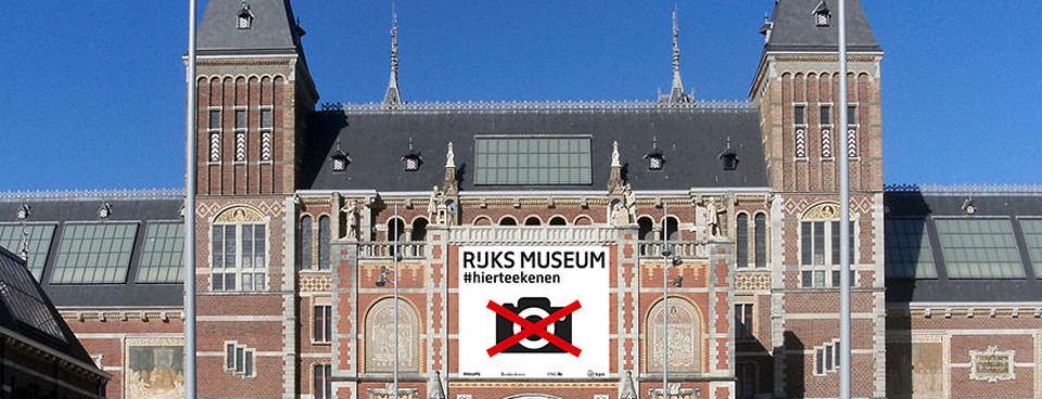 Müze fotoğraf çekmeyi yasakladı bakın onlar ne yaptı