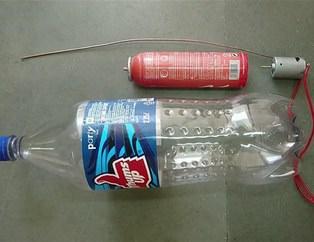 Sadece boş bir kola şişesiyken…