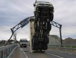 'Yok artık' dedirten kazalar