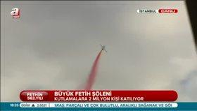 Fetih Şöleni'nde Türk Yıldızları büyüledi
