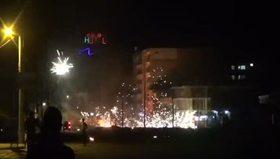 Şırnak'ta eylemciler yol kapatıp polise saldırdı