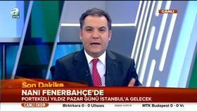 Nani Fenerbahçe'de!