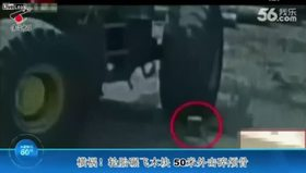 Çin'de inanması güç kaza!