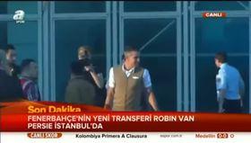 Van Persie İstanbul'da