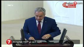 Arınç'tan HDP'ye sert tepki