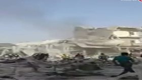 Suriye sınırına uçak düştü