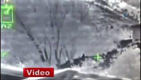 Karakola saldıran PKK'lılar böyle vuruldu