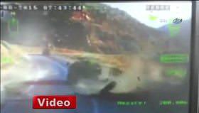 PKK'nın mayınlı saldırısı kamerada
