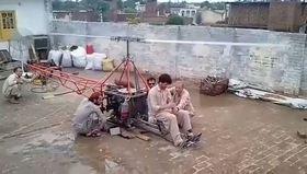 Pakistanlı Gençlerden Ev Yapımı Helikopter