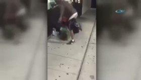 Kadını birlikte dövdüler