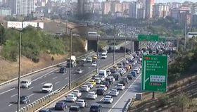 TEM'deki çalışmalar trafiği yoğunlaştırıdı