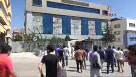 BM binası önünde 'Aylan Kurdi' protestosu