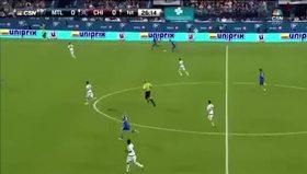 Drogba'dan ilk maçında şov
